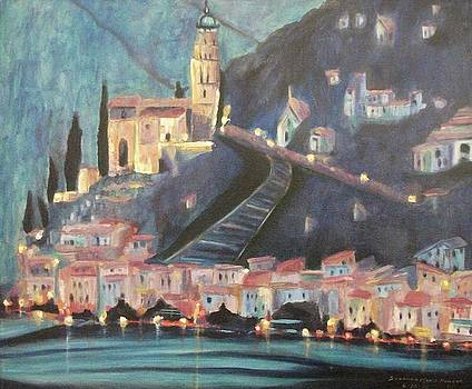 Suzanne  Marie Leclair - Switzerland by Night