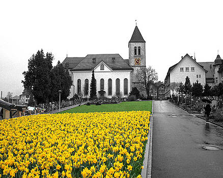 Switzerland Church by Jim Kuhlmann
