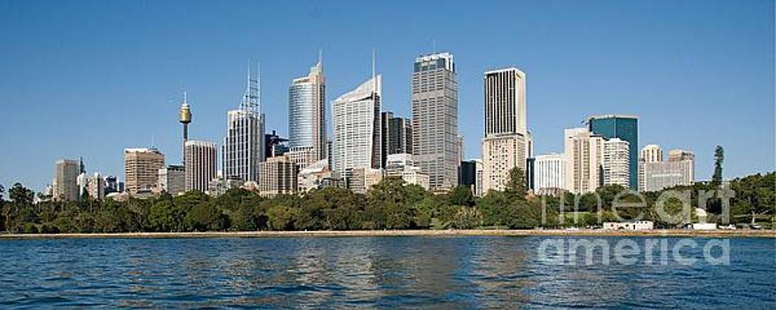 Sydney Commercial Skyline3. by Geoff Childs
