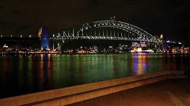 Sydney Harbour Bridge by KC Moffatt
