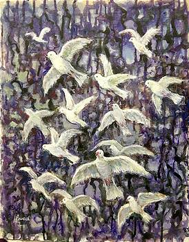 Symbol  of peace by Laila Awad Jamaleldin