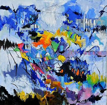 Symphony In Blue by Pol Ledent