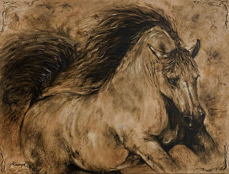 Symphony by Paula Collewijn -  The Art of Horses