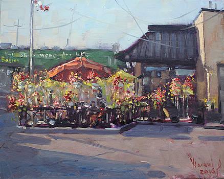 Symposium Cafe Restaurant - Georgetown by Ylli Haruni