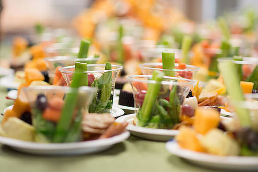 Table of veggies by Sharon Wunder Photography