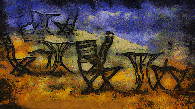 Tables and Chairs by Joseph Hollingsworth