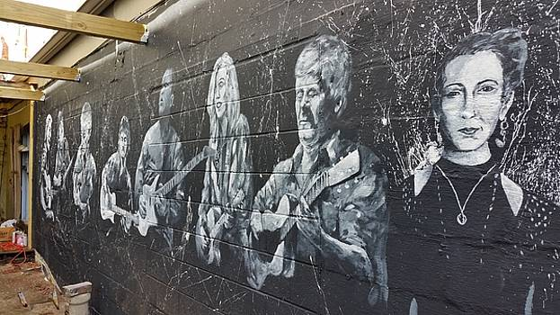 Taffys wall mural 2 by David Maynard
