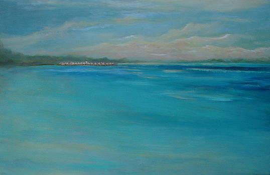 Tahiti Sunset by Phyllis OShields
