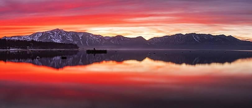 Tahoe Aglow by Brad Scott