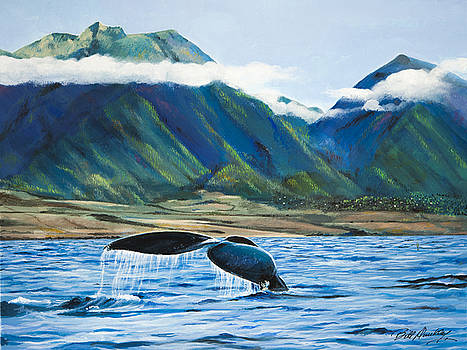Tail of a Whale by Bill Dunkley