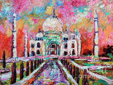 Ginette Callaway - Taj Mahal Mausoleum India