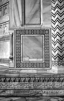 Steve Harrington - Taj Mahal Stone Work bw