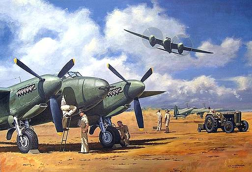 'Taking Delivery - Mosquito' by Colin Parker