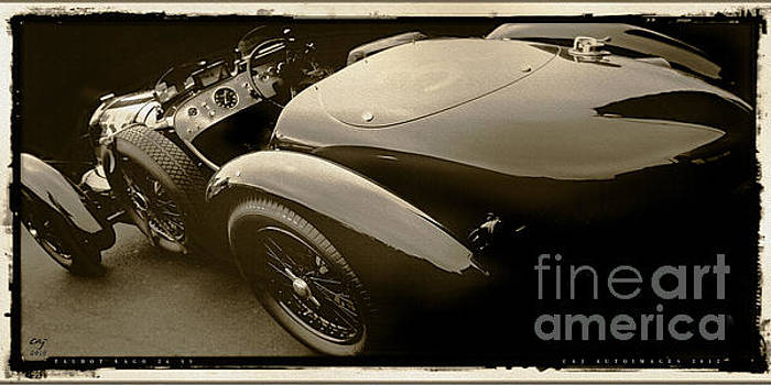 Talbot Lago 26 SS by Curt Johnson
