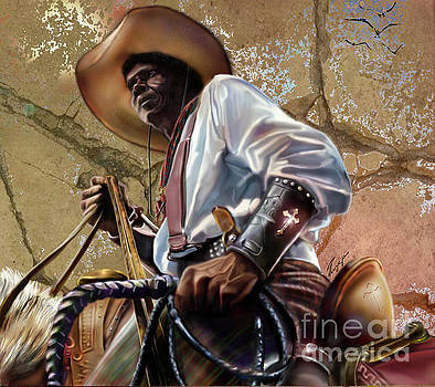 Tall In The Saddle Cowboy Pride 1a by Reggie Duffie