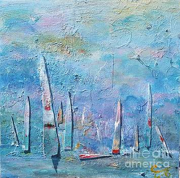 Tall Sails by Chaline Ouellet