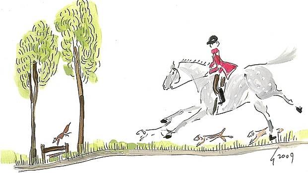 Tally Ho Fox Hunt by Liz Pizzo