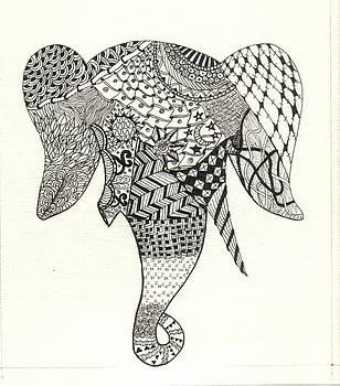 Tangled Elephant by Ekta Gupta