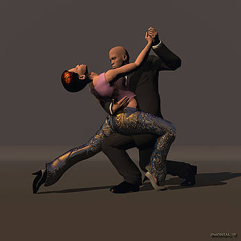Walter Oliver Neal - Tango Couple 1