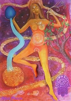 Tanit Goddess by Alice Mason