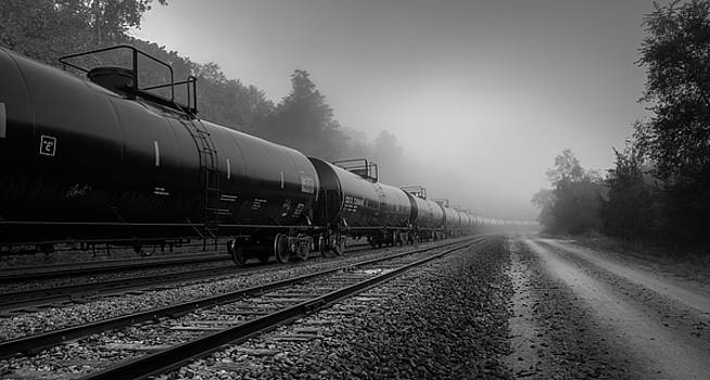 Tankers blk and wht by Mark McDaniel