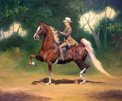 Tanner and Lady by Jeanne Newton Schoborg