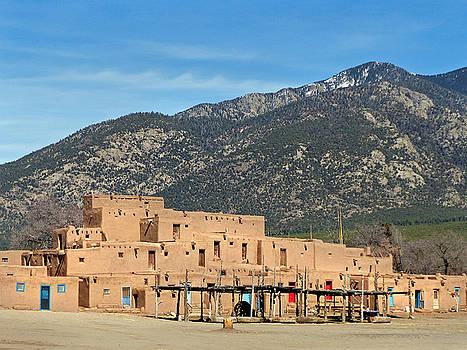 Taos Pueblo 20 by Jeff Brunton