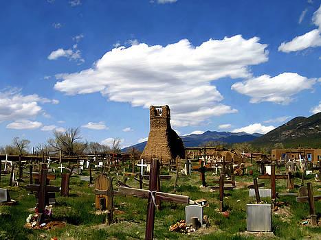 Kurt Van Wagner - Taos pueblo cemetery