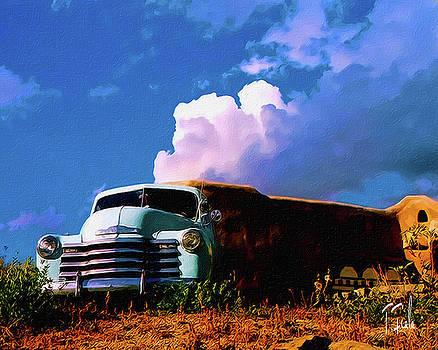Taos Skies by Terry Fiala