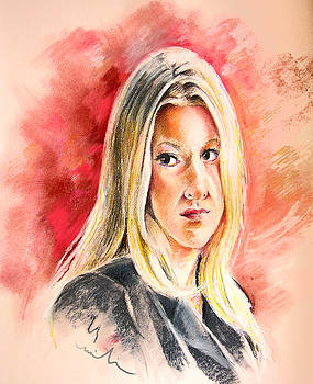 Miki De Goodaboom - Tara Summers in Boston Legal