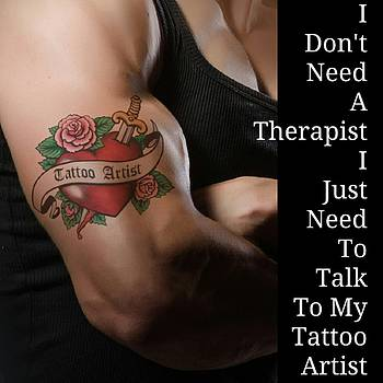 Tattoo Artist by Daryl Macintyre