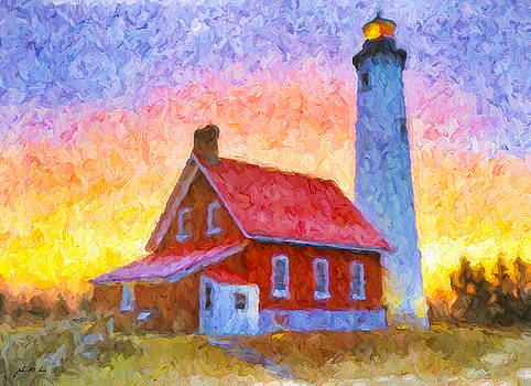 Tawas Point Lighthouse by John Farr