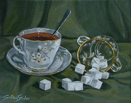 Tea And Cubes by Cynthia Snider