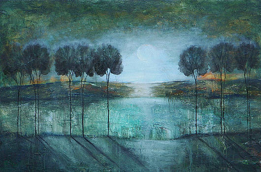 Teal Lake by Lauren  Marems