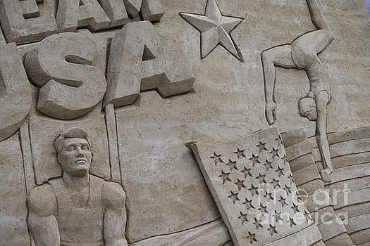 David  Zanzinger - Team USA 3D Sand Sculpture