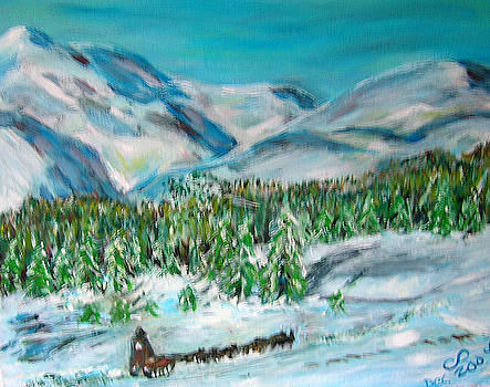 Teamwork in Alaska by Carolyn Donnell
