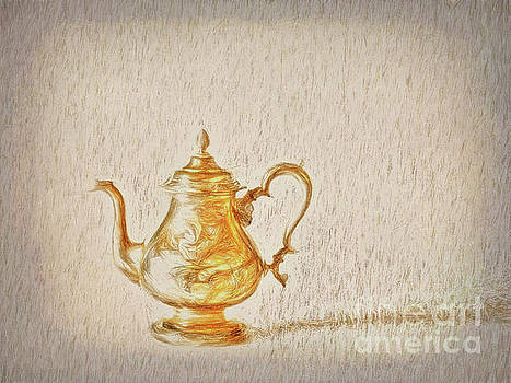 Teapot  ... by Chuck Caramella