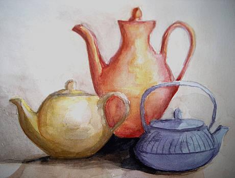 Teapots by Constance Larimer