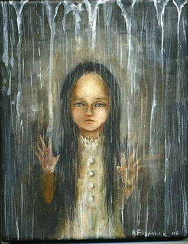 Tears hiding in the rain by Mya Fitzpatrick