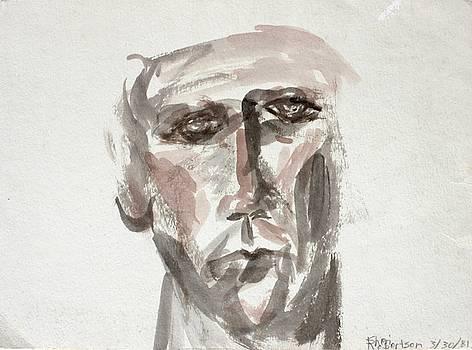 Teen Boy's Portrait by Sheri Parris