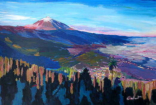 Teide Tenerife Spain Canary Islands Astonishing  by M Bleichner