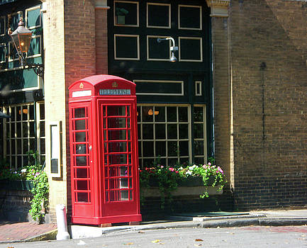 Telephone Booth by Michael McKenzie