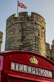 Telephone in Canterbury by Daniel Precht