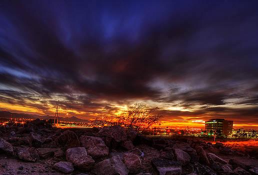 Tempe Sunset by Bryan Dudak