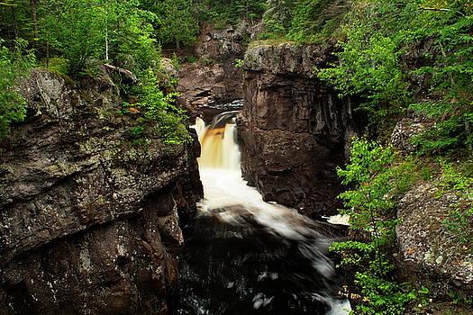Temperance River Falls II by Amanda Kiplinger
