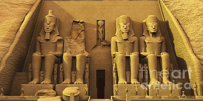Corey Ford - Temple of Abu Simbel
