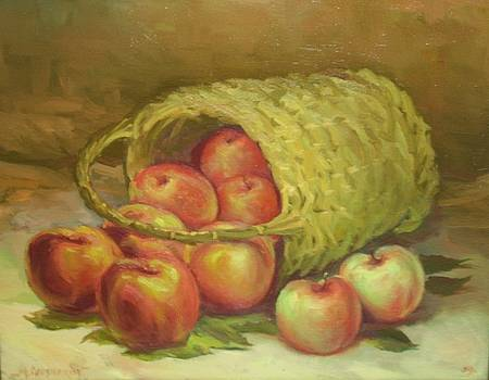 Ten Pounds of Apples by Michael Chesnakov