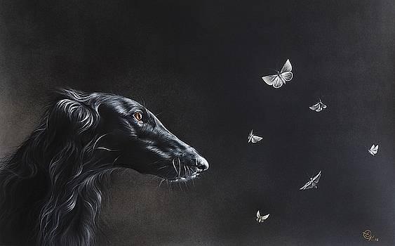 Tender is the night by Elena Kolotusha