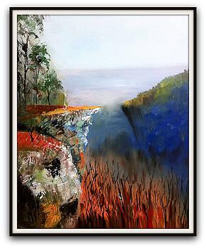 Teresa's Crag by Scott Hoke