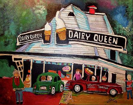 Terry's Dairy Queen Sherbrooke by Michael Litvack